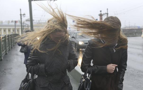 В понедельник в Петербурге будет ветрено, сообщает МЧС