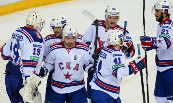 СКА победил Ак Барс в четвертом матче финала Кубка Гагарина