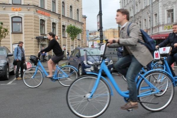 В Петербурге за первые дни работы велопроката украли более 20 велосипедов