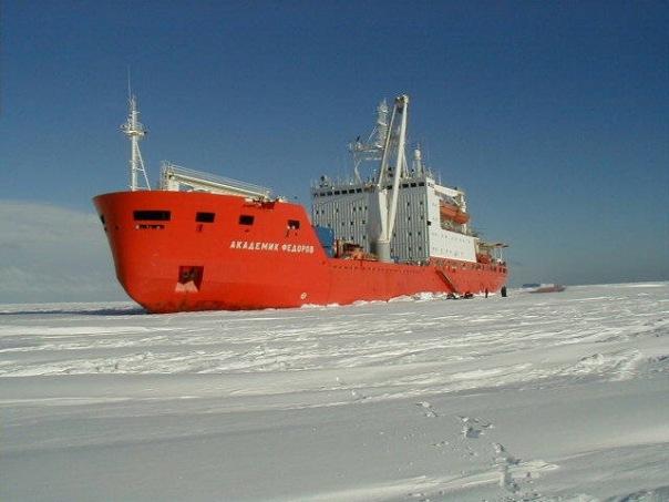 Академик Федоров возвращается в Петербург из антарктической экспедиции