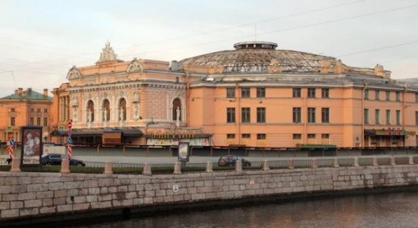 В Петербурге полностью разобрали купол Цирка на Фонтанке
