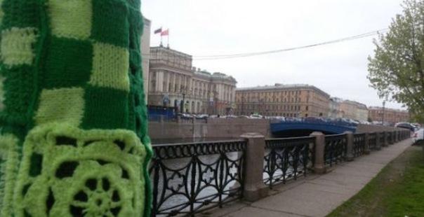 В Петербурге появятся вязанные достопримечательности