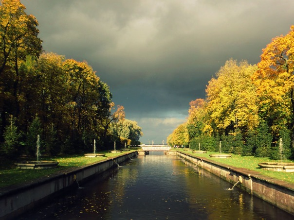 В праздничные выходные Санкт-Петербург ждет небольшой дождь