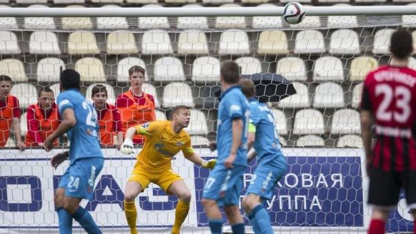 Футболисты Зенита уступили Амкару в первом матче в ранге чемпионов России
