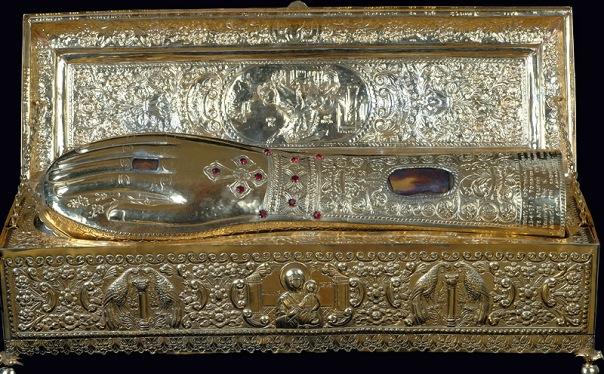 Десницу святого Георгия Победоносца из монастыря на горе Афон привезут в Петербург