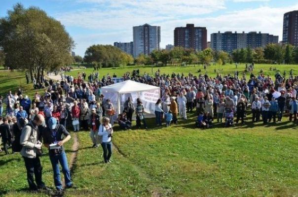 В парке Малиновка в Петербурге пройдёт флешмоб против застройки