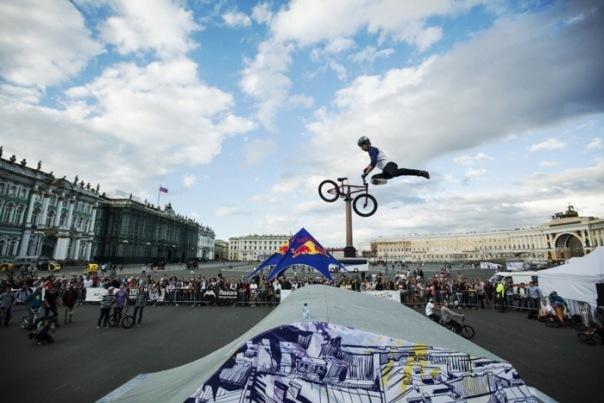 На Дворцовой площади пройдёт фестиваль экстремальных видов спорта