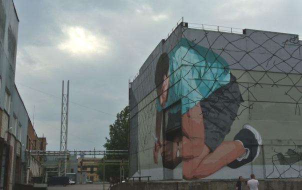 В Музее стрит-арта российские художники предсказали будущее
