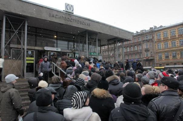 Станцию метро Василеостровская не закроют 7 июля