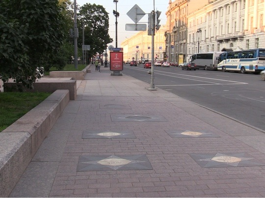 С аллеи благотворительности в Санкт-Петербурге украли табличку Валентины Матвиенко