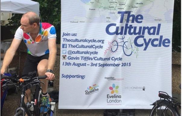 Шотландец отправится из Лондона в Петербург на велосипеде