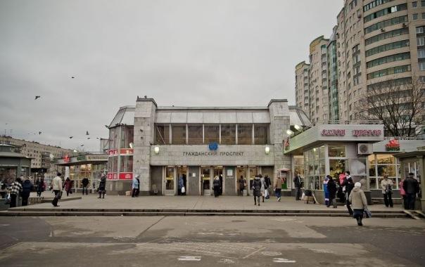 Из-за ремонта пола на станциях метро Гражданский проспект и Чёрная речка ограничат вход