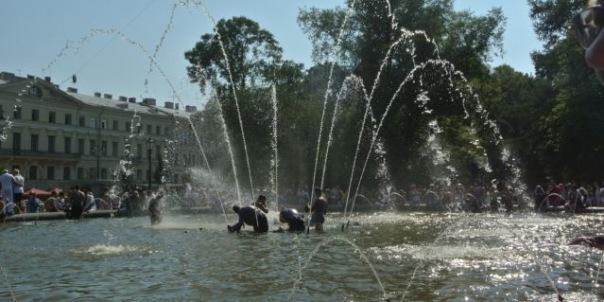 В День ВДВ в Петербурге отключат некоторые фонтаны
