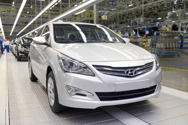 Завод Hyundai в Петербурге начал производство авто для Египта и Ливана