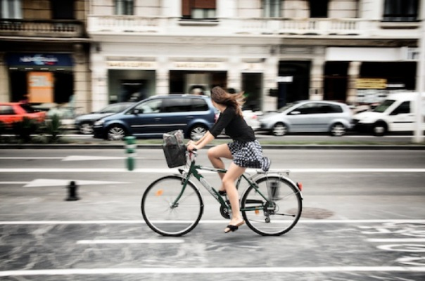 Акция На работу на велосипеде в Петербурге