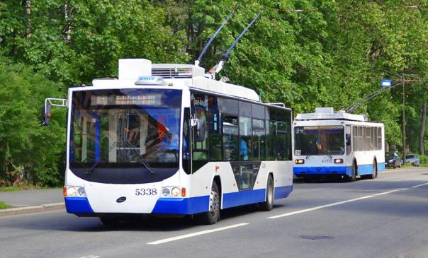 Троллейбусы маршрута № 17 будут ходить по измененной трассе