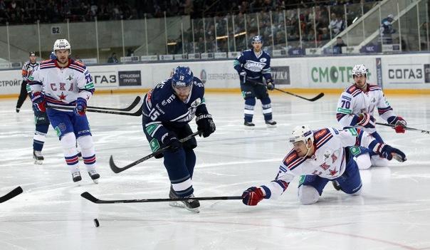 СКА потерпел поражение от московского Динамо