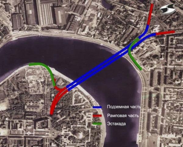 Смольный заплатит за отмену строительства Орловского тоннеля