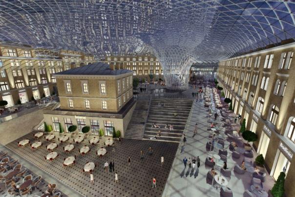 Гостиный двор Петербурга может получить купол и подземный паркинг