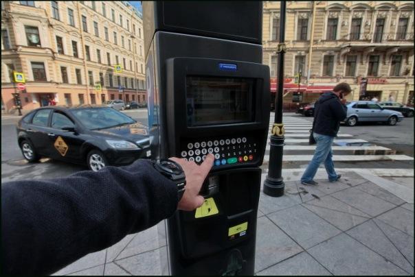 Платной парковкой в центре города воспользовались 808 тысяч раз