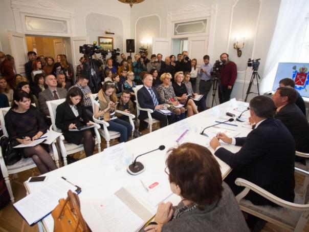 В Петербурге открылся медиа-центр городского правительства