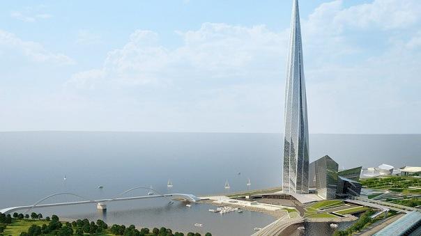 План по строительству Лахта центра получил одобрение Смольного