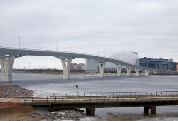 Смольный ищет нового инвестора для строительства моста к Зенит-Арене