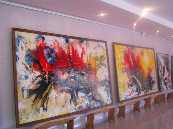 В Петербурге открылась выставка Ушанга Козаева