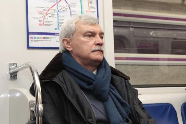 Полтавченко ушел в отпуск в четвертый раз в году
