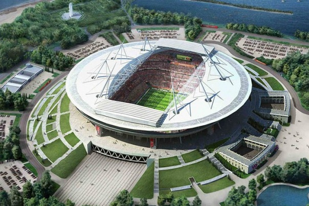 Игорь Албин провел совещание на стадионе