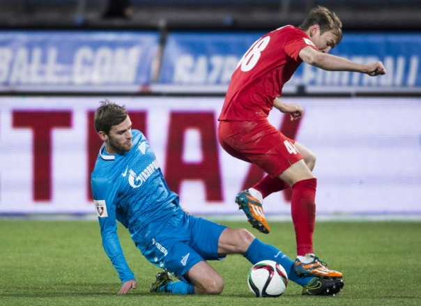 Зенит сыграл вничью с Мордовией в матче 14-го тура РФПЛ