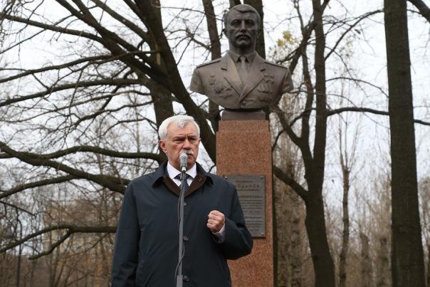 В Петербурге открыли памятник Николаю Майданову