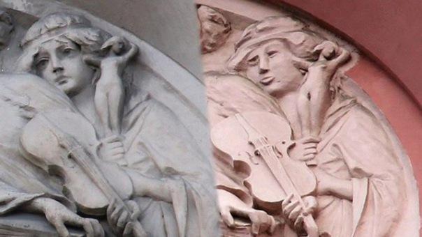 Петербуржцы просят возродить изуродованный барельеф на доме-памятнике