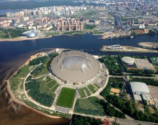 Первый матч на Зенит-Арене состоится в сентябре 2016 года