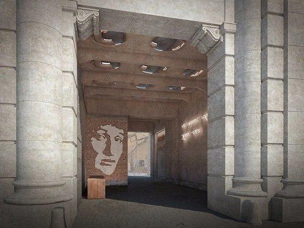 В Петербурге создадут арку с портретом Анны Ахматовой