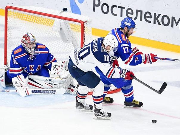 СКА победил в восьмой раз, но позволил Мозякину обойти Старшинова