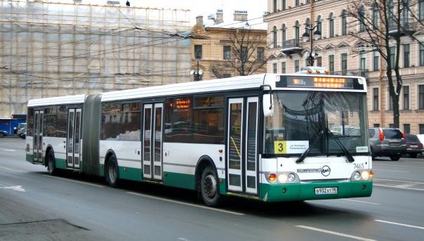 В 2015 году Петербург закупил почти 200 автобусов