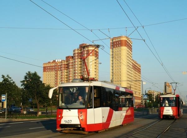 Трамвайное движение по Сердобольской прекратится до конца января