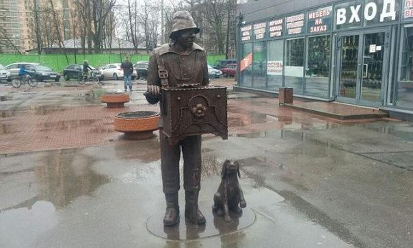 Петербургский шарманщик появился на Удельной