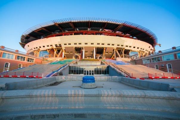Стадион Зенит-Арена построен на 80%