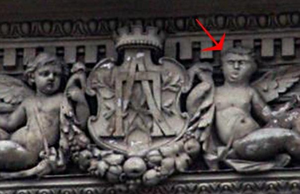 На Невском проспекте нашли барельеф сына степной бабы