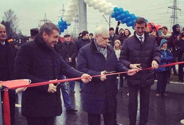 В Петербурге открыли продолжение Суздальского проспекта