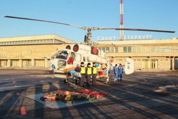 Глава МЧС России подарил Петербургу многоцелевой спасательный вертолет