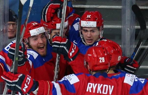 Российские хоккеисты проявили характер в 1/4 финала МЧМ с датчанами