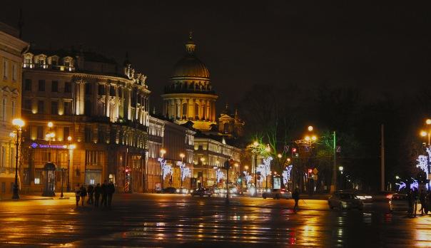 В новогодние праздники Петербург посетили 300 тыс. туристов