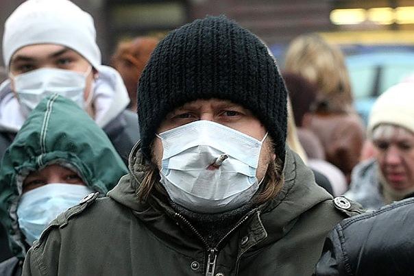 Роспотребнадзор заявил об эпидемии свиного гриппа в Петербурге