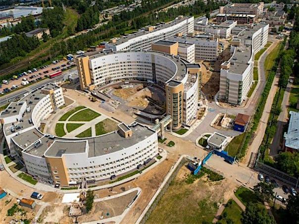 В Санкт-Петербурге открылась крупнейшая в России инфекционная больница