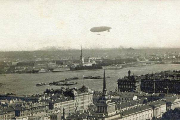 Флешмоб Небо над Ленинградом