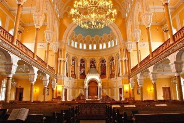 В петербургской синагоге установили автомат для пожертвований и молитв