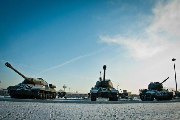 Масштабный Музей военной техники под открытым небом появится в городе
